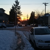 Sunset @❄⛄v city