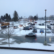 Light snow in Chilliwack