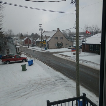 its snowing grenville quebec