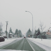 Snow day in BC