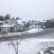 Fraser Valley's snow.