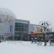 Snow at False Creek