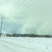 Snow squalls all around