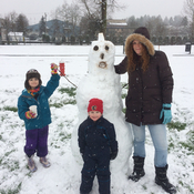Family fun at Lewis park Courtenay bc
