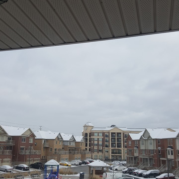 Snow in Mississauga