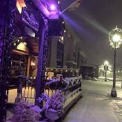 Winter's night in Fergus