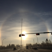 Cold Edmonton halo