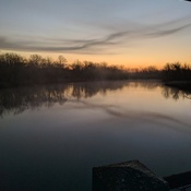 Chippewa Creek at Sunrise