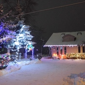 Lauranelly Lakehouse Christmas Lights