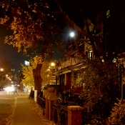 THE NIGHT BEFORE THE SUPERMOON OF NOV. 14/16 IN THE KENSINGTON MARKET, TORONTO