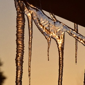 Sunsetting icicles