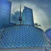 Roy Thomson Hall & CN Tower