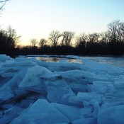 January Thaw on the Grand River