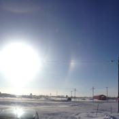 Double halo - Saskatchewan