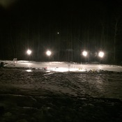 Backyard Rink In Morrisburg Ontario