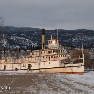 The Sicamous in early daylight