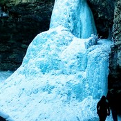 Troy Ice Falls - Kananaskis