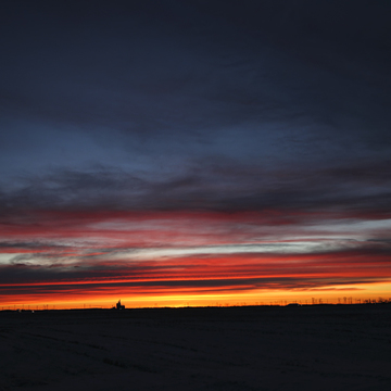 BEAUTIFUL sunrise in Yorkton Sk.
