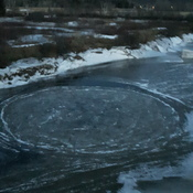 Whirl Pool in Nerepis river.