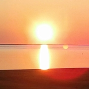 beautiful bouctouche sun rise