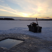 good evening on the ice