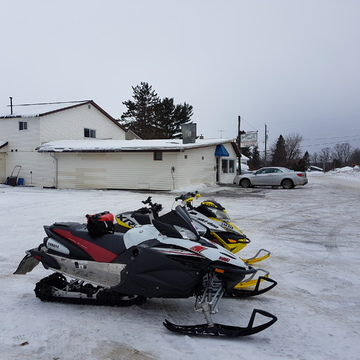 Snowmobile Ride to Port Loring