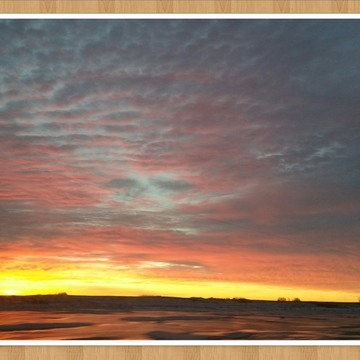 beautiful Saskatchewan sunrise