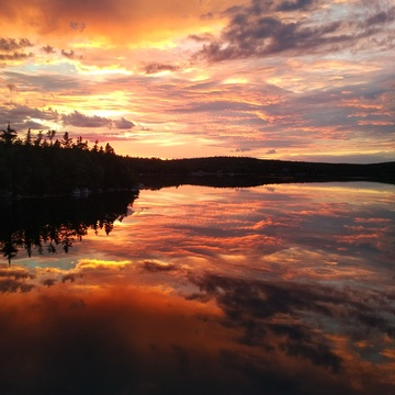 Sunset in Sambro NS