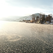 Okanogan Lk Freeze Over
