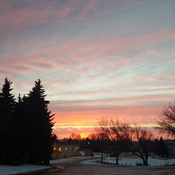 Beautiful Sunset at Saskatoon