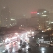 Heavy fog in Toronto