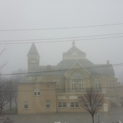 Fog over the Church