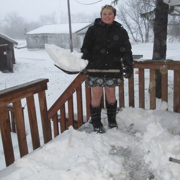 Just another day for Shovelman!
