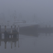 Heavy Fog at the Docks