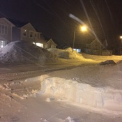 Blizzard Aftermath in St. John's, NL