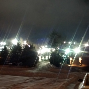 Night skiing at Snow Valley