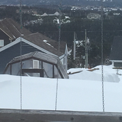 Snow drifts in Paradise, NL