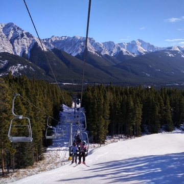 Beautiful view from Bronze lift