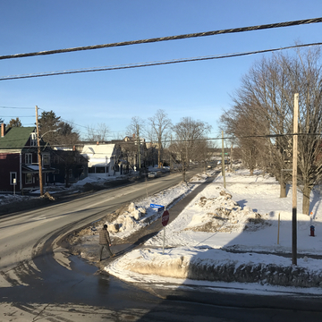 Beautiful January day in Fredericton.