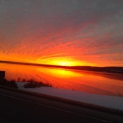 sunrise in cape breton