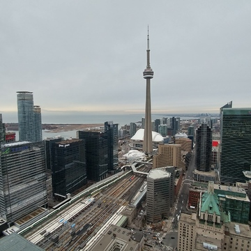 Cloudy Morning in Toronto