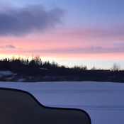 Sunset In St.Albans NL