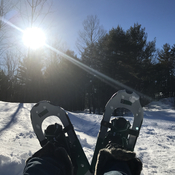 Snowshoeing? Why not!
