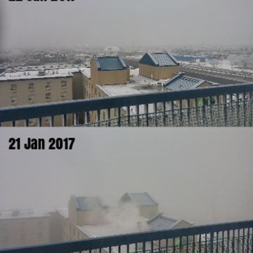 Foggy Days in Edmonton