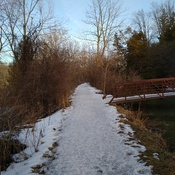 Walking Mill Race trail