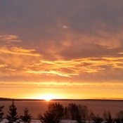 A new day over Nova Scotia