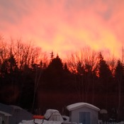 AM red sky Hebbville NS