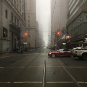 Foggy morning in T.O