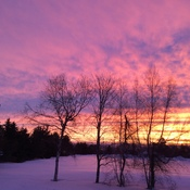 Sunrise in pictou county