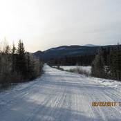 My Trail at Copper Haul Road, Whitehorse YT Feb22 2017
